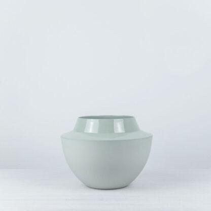 hohe Vase weiß