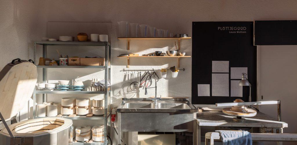 Ladengeschäft Kornstrasse Werkstatt